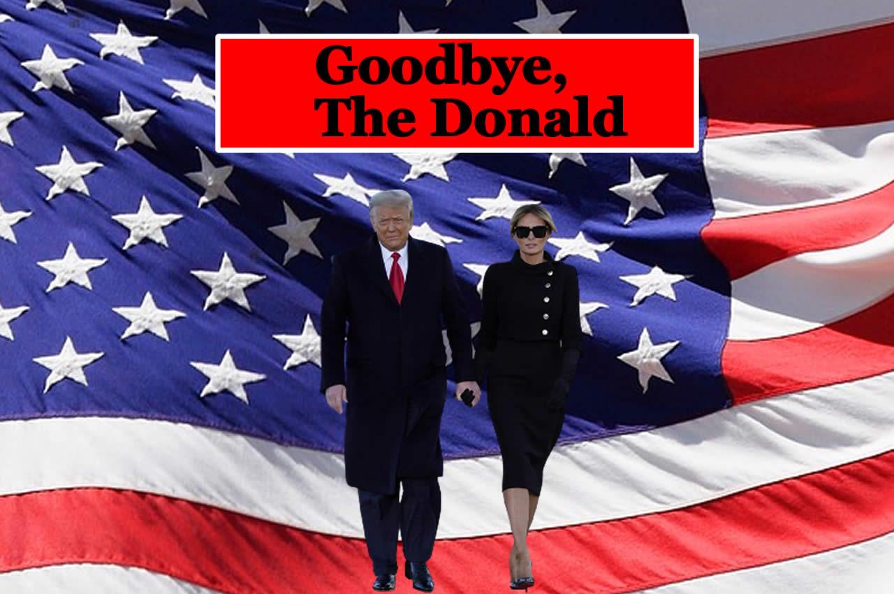 L'addio di Melania Trump da 100mila dollari