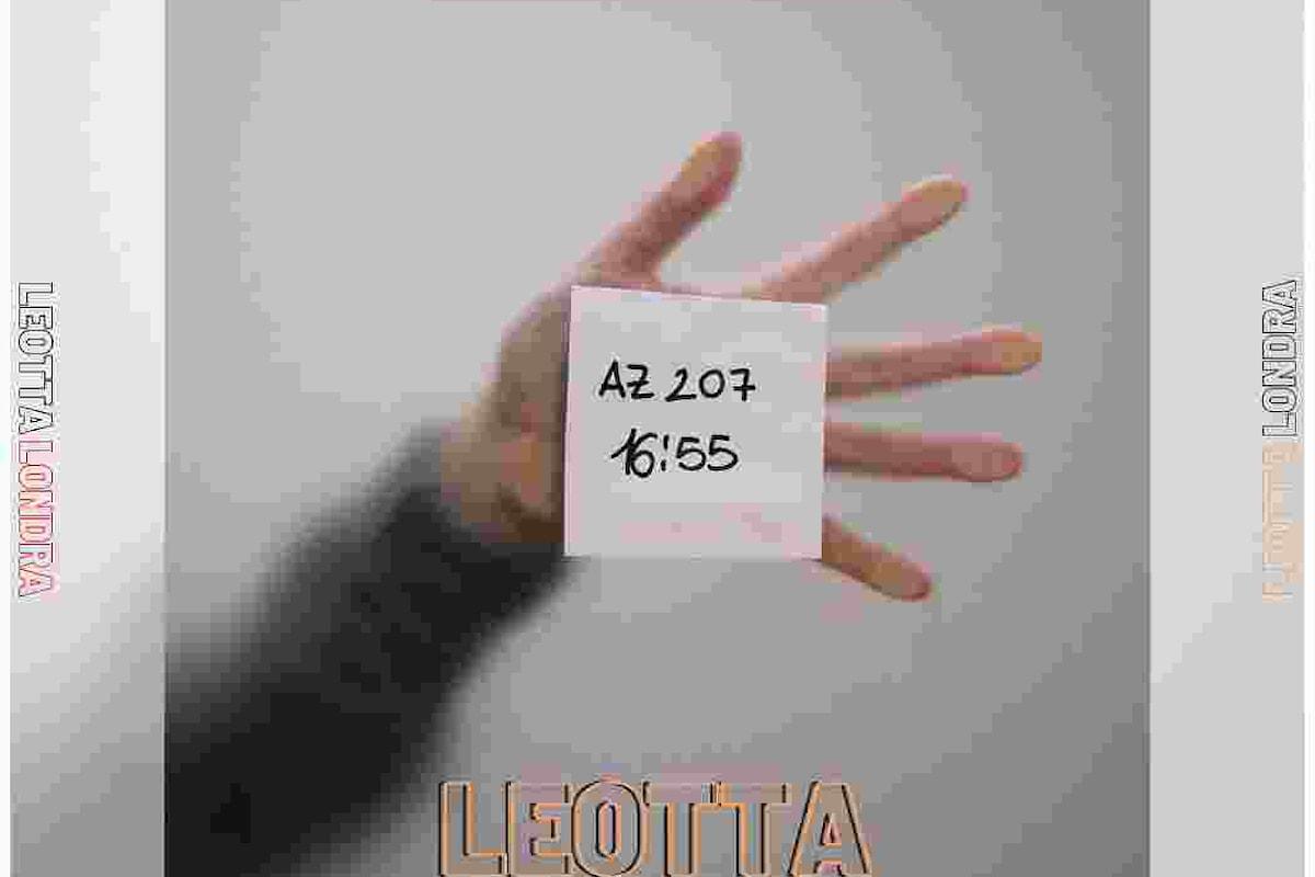 """Leotta """"Londra"""" è il nuovo brano del cantante e chitarrista catanese che anticipa un Ep di prossima uscita"""