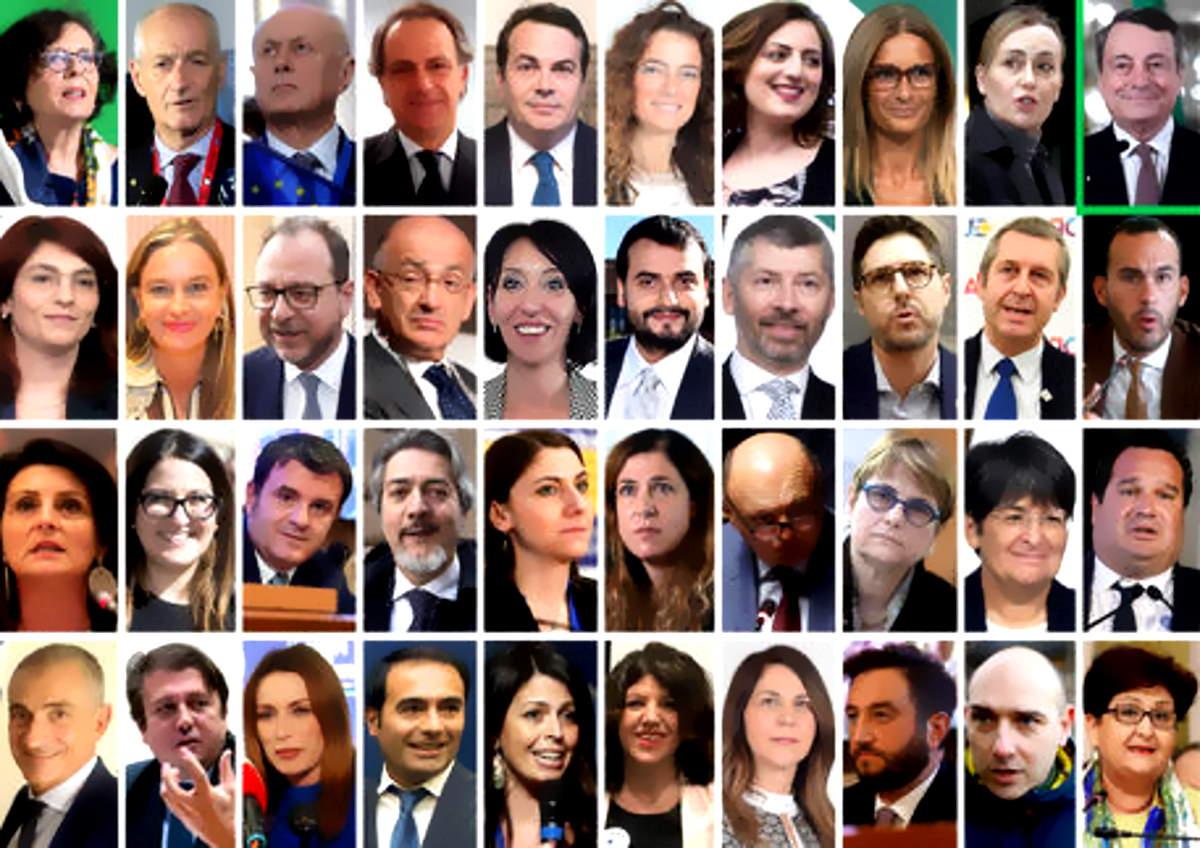 Ecco partoriti sottosegretari e viceministri del governo Draghi: E io speriamo che me la cavo!