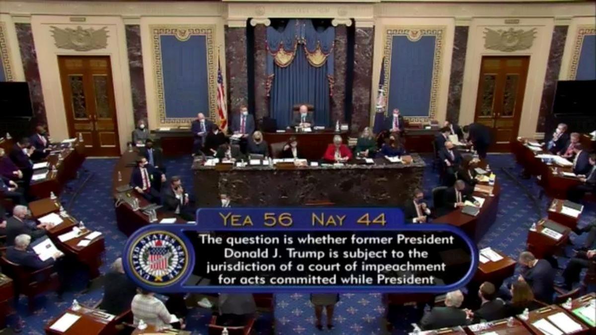 Stabilita la sua costituzionalità, il Senato Usa inizia il processo per l'impeachment di Trump