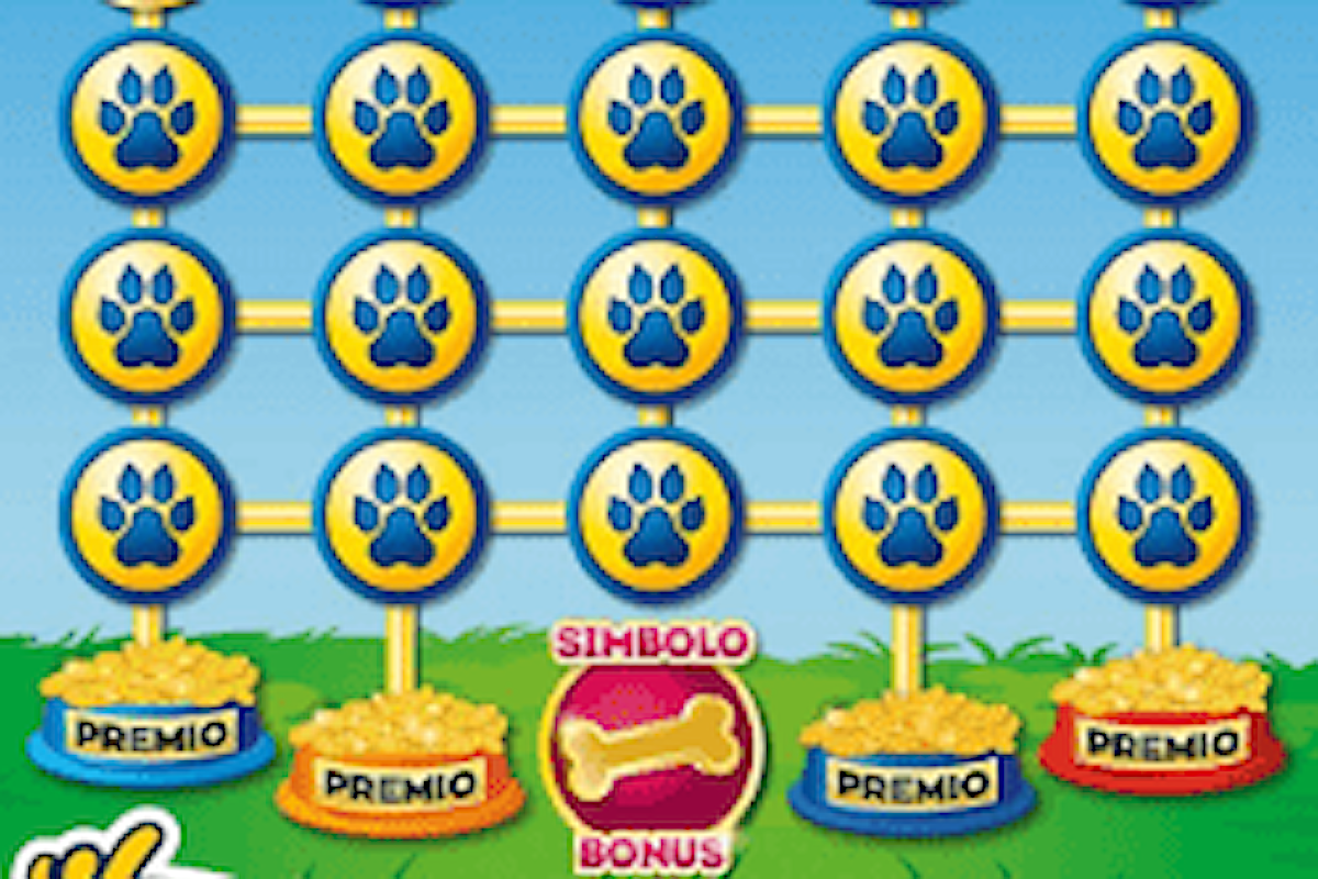 Il nuovo Gratta e Vinci Cuccioli d'Oro: con 3€ si possono vincere fino a 200.000€