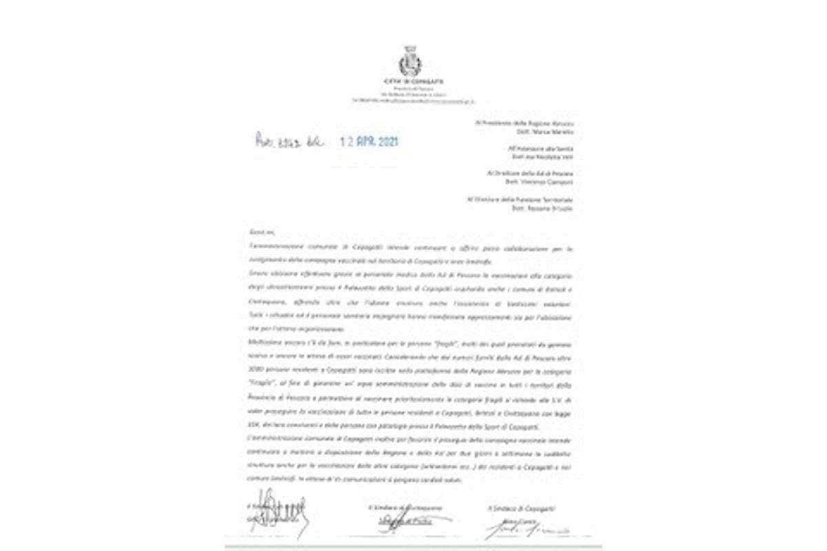 CEPAGATTI, COVID19: da venerdì 16 Aprile 2021, inizio vaccinazioni categorie fragili