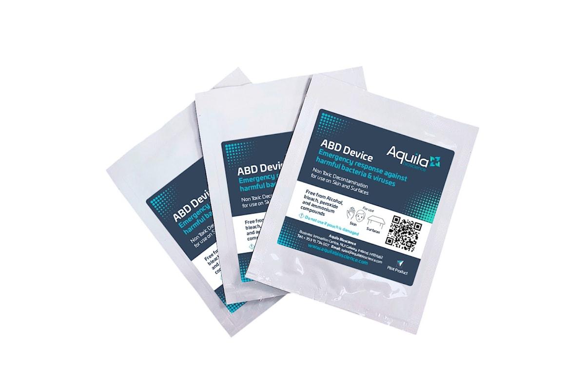 La start-up irlandese Aquila Bioscience lancia la prima salvietta anti-coronavirus amica della pelle e del Pianeta: 100% naturale ed efficace al 99,99% contro i virus