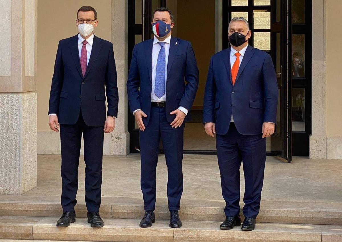 L'eroe Salvini ha incontrato Morawiecki e Orban per discutere di una nuova idea di Europa