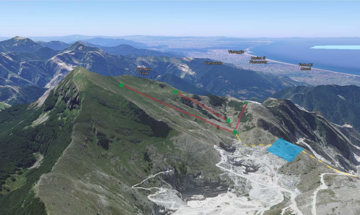 Impianti sciistici vista mare, nuova scommessa sul Monte Sagro di una Holding lombarda