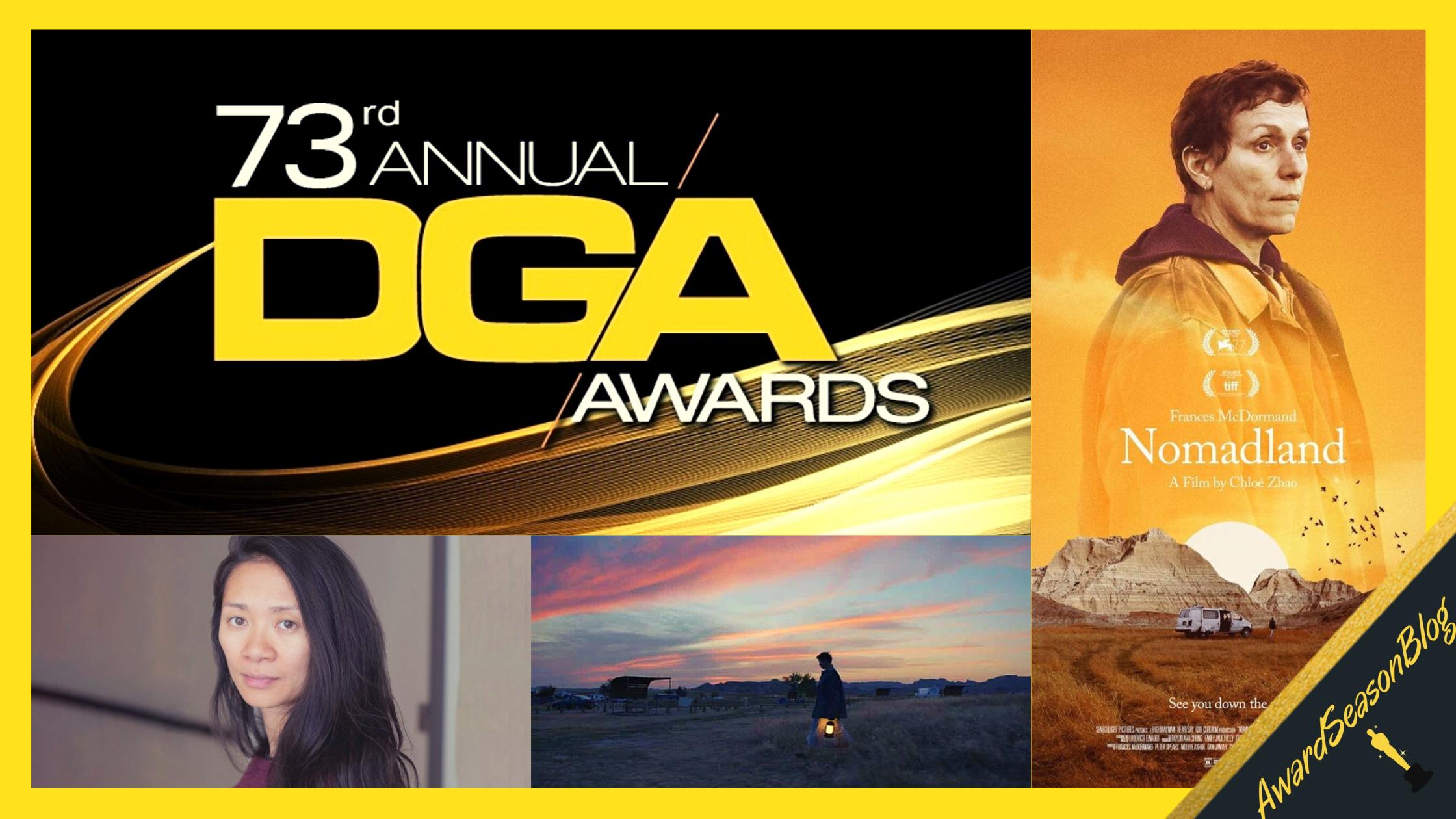 Directors Guild Awards: la regista Chloé Zhao ad un passo dall'Oscar