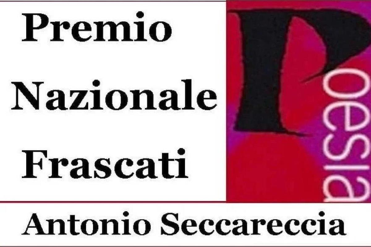 61.ma edizione Premio Nazionale Frascati Poesia Antonio Seccareccia