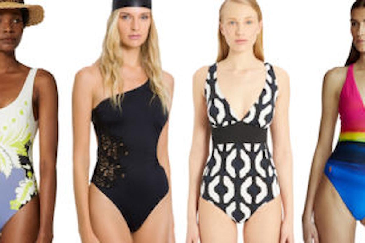 Il costume intero sarà la scelta per chi desidera essere elegante anche in spiaggia!