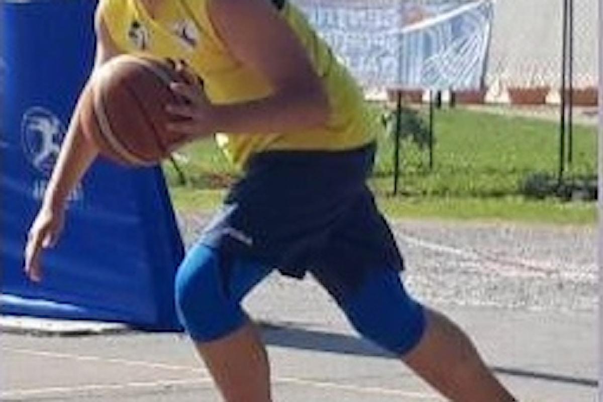Kevin Cirrone giovane promessa del basket pisano