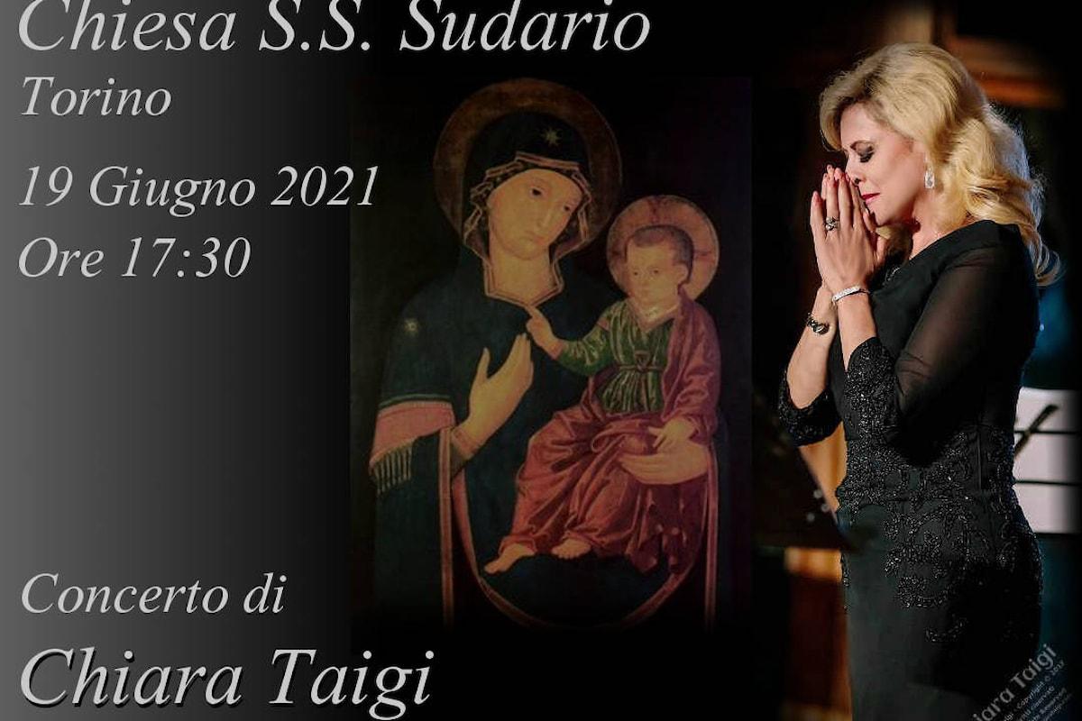 """CHIARA TAIGI - Concerto """"Festa Mariana della Consolata"""" alla Chiesa del Santo Sudario - Associazione Concertante - Torino"""