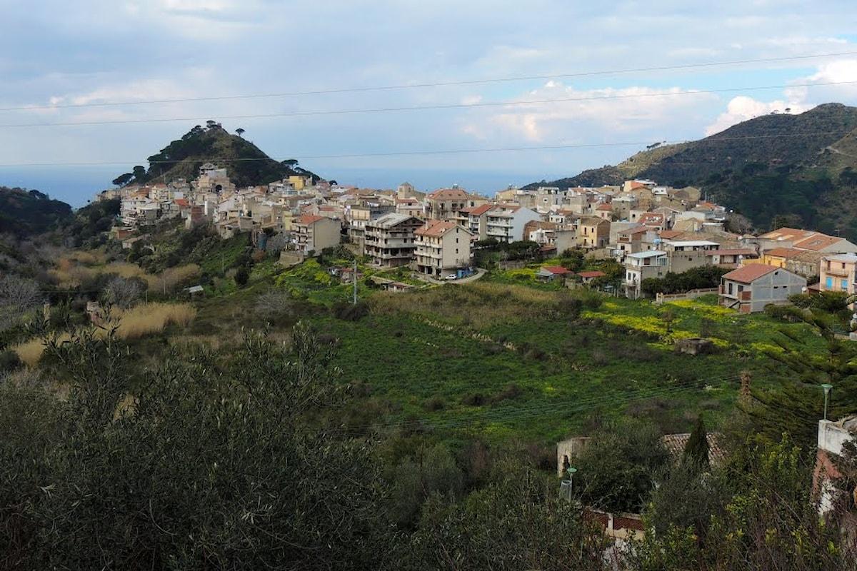 Messina - Chiusura di un tratto nella strada provinciale 51 di Salice