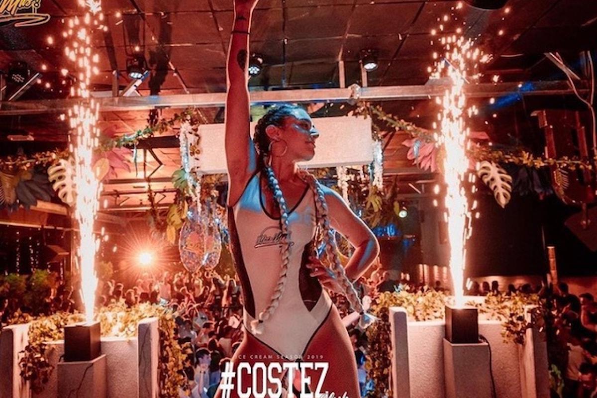 #Costez Summer Club - Telgate (BG), un weekend al top: 9/7 Una Mas, 10/7 Turn on the Music con Chiara Giorgianni e Dr.Space