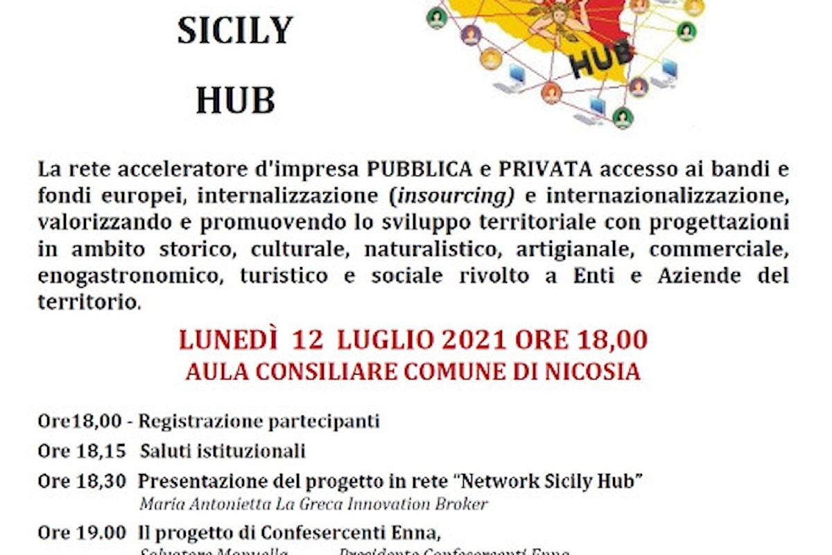 WeStart partecipa alla presentazione di Network Sicily Hub - Aula Consiliare di Nicosia, 12 luglio alle 18.00