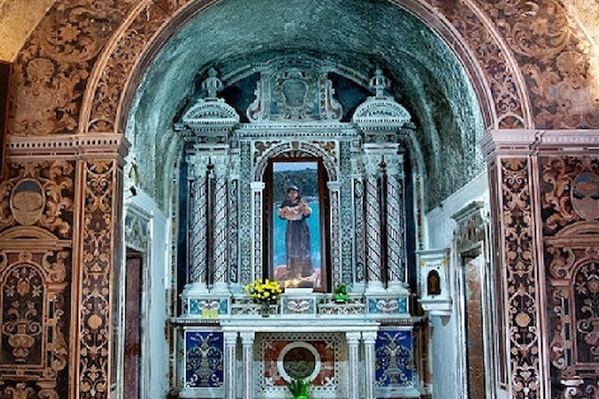 Milazzo (ME) - Completato il restauro delle tarsie marmoree alla chiesa di S. Antonio
