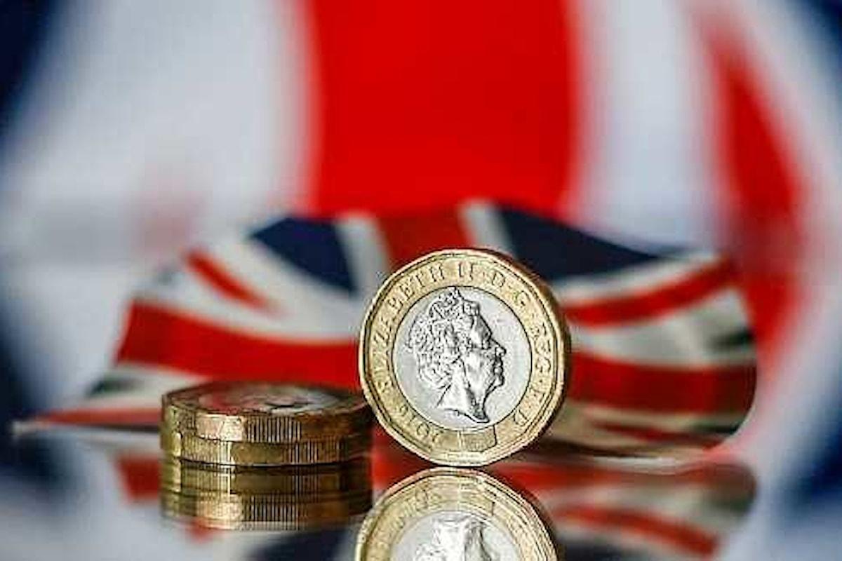Londra: sterlina in ascesa dopo il meeting della Federal Reserve