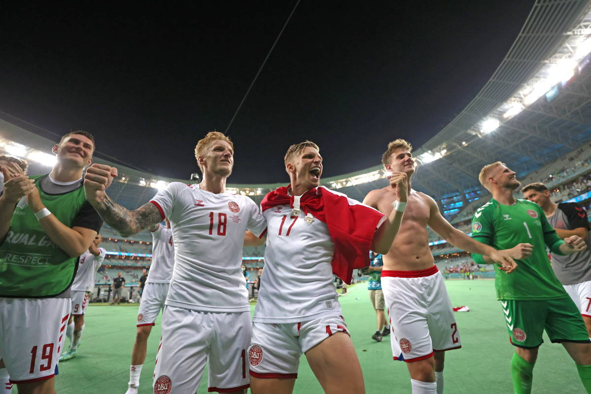 La Danimarca batte 2-1 la Repubblica Ceca e diventa la terza semifinalista di Euro 2020