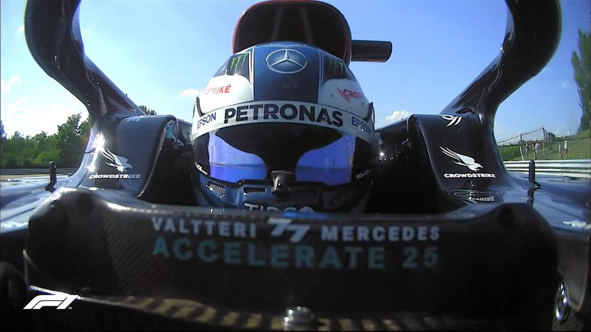 Formula 1, in Ungheria le due Mercedes sono più veloci di Verstappen