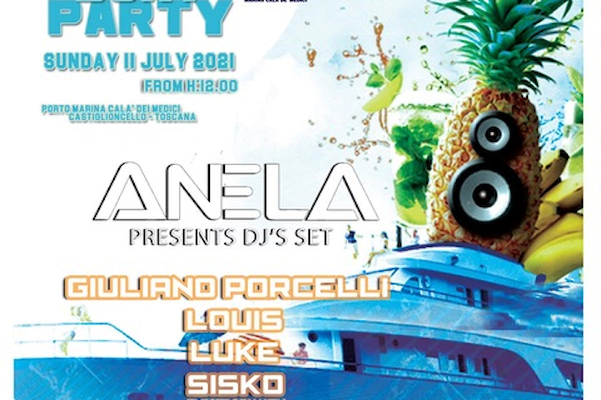 L'11 luglio 2021 Summer Boat Party @ Cala de' Medici, by Anela & friends
