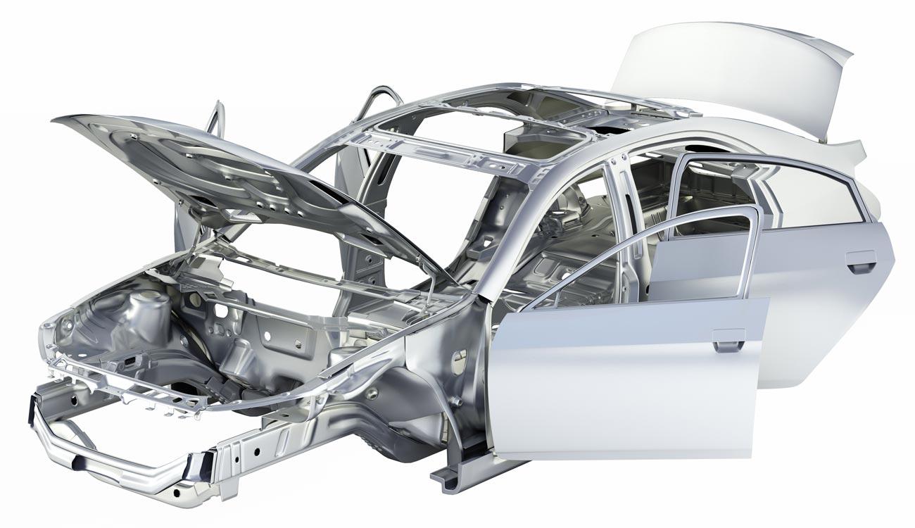 Boom dell'uso di alluminio nell'automotive