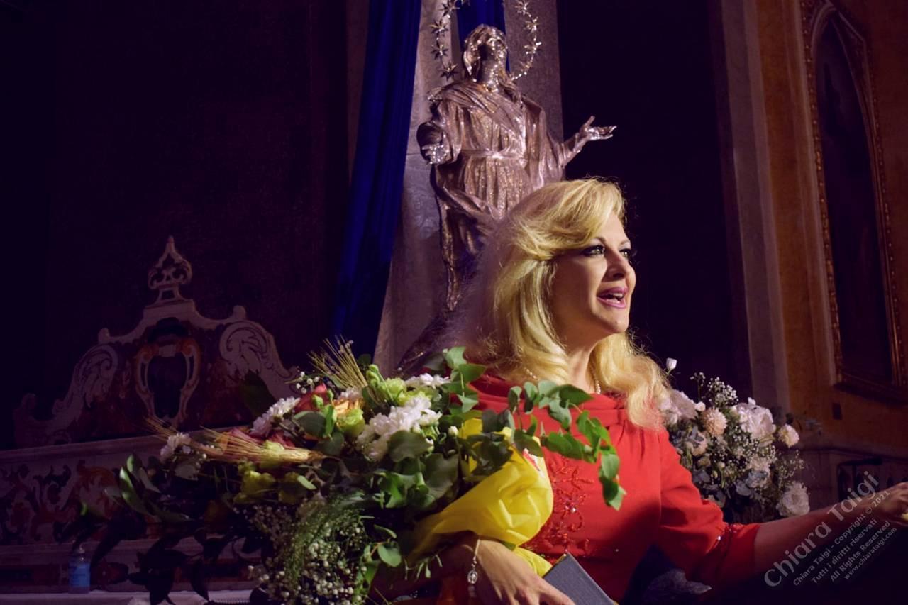 Chiara Taigi incanta il pubblico in cattedrale ad Altamura - 13 agosto 2021