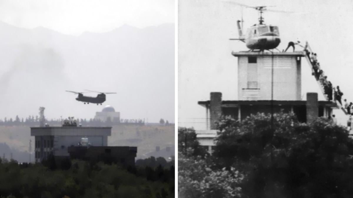 Kabul come Saigon: gli elicotteri evacuano i diplomatici americani mentre i talebani stanno occupando la capitale
