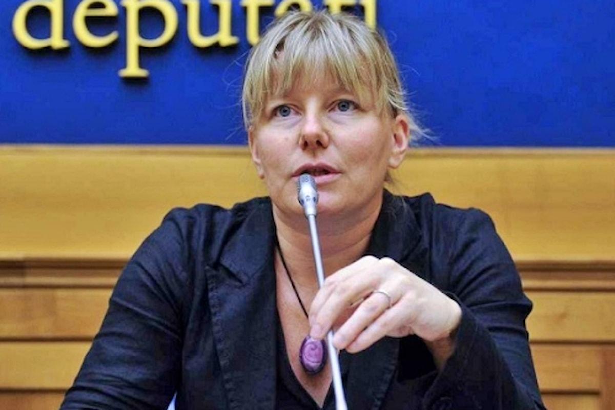 Sara Cunial: Qui la mia residenza parlamentare, chiuderlo è una grave violazione della legge, in centinaia davanti all'hotel Cavallino Bianco contro la chiusura