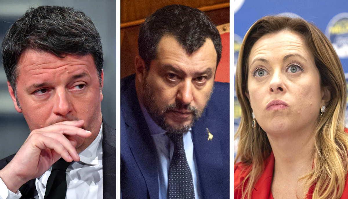 Ecco gli anti-Conte Renzi, Salvini e Meloni cosa dicono a proposito dei migranti