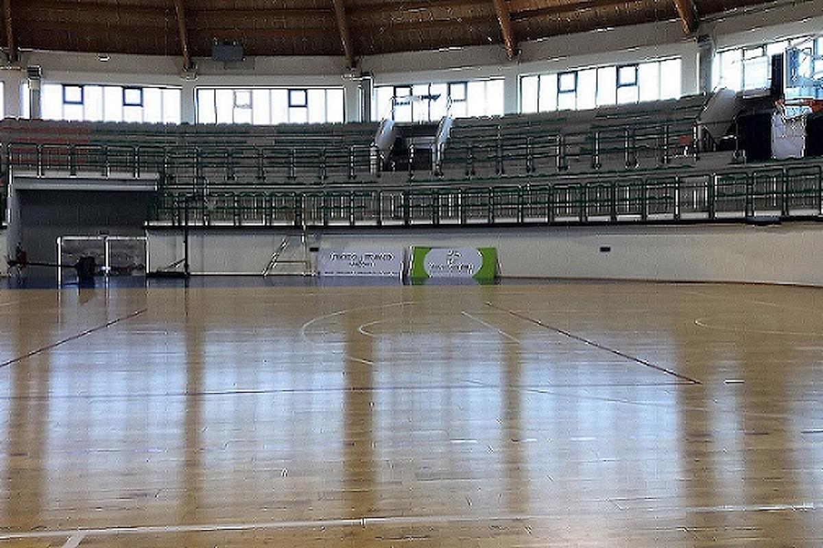 Milazzo (ME) - Palasport di via Valverde, consentito l'accesso sino a 199 spettatori