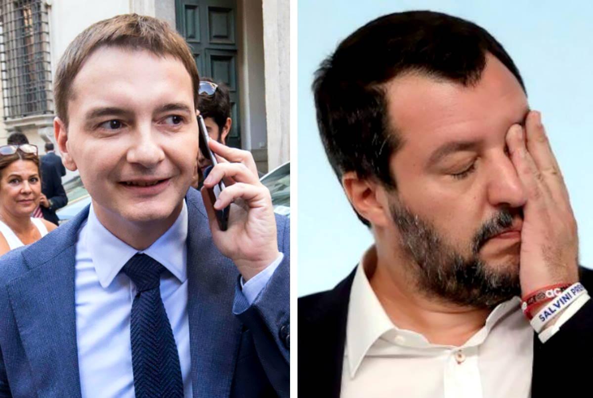La vicenda Morisi è un caso anche politico e Salvini trema...