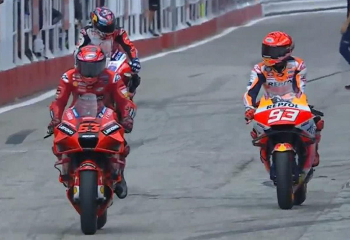 MotoGP, a Bagnaia la pole di Misano con il record della pista