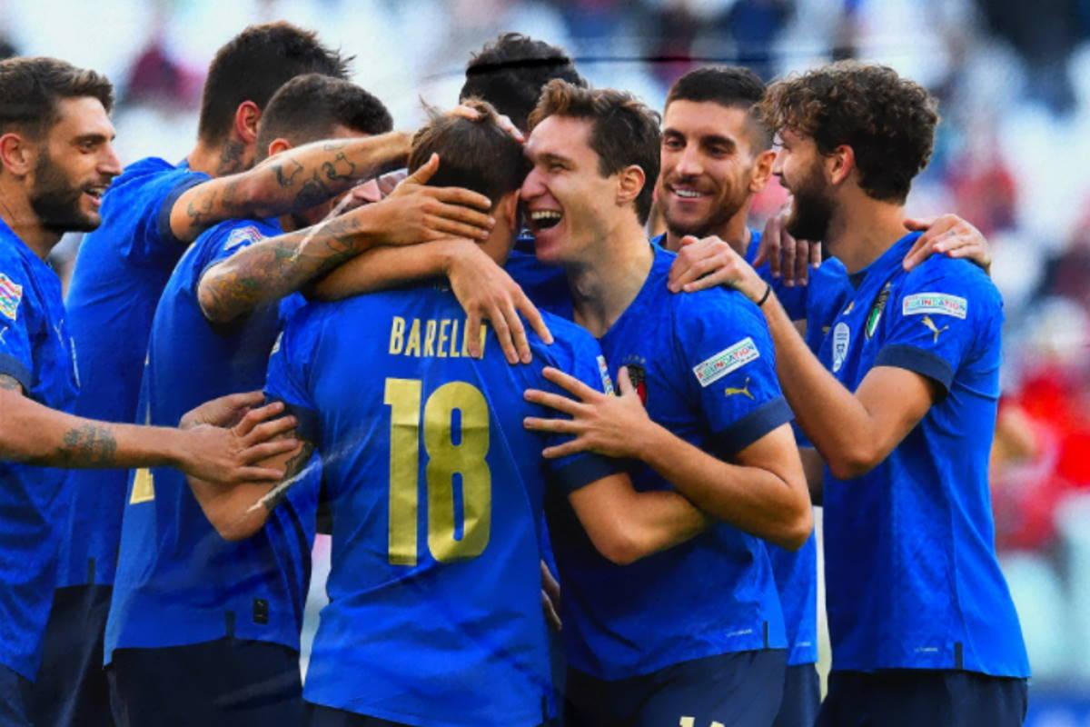 L'Italia batte il Belgio 2-1 ed è terza nella Nations League