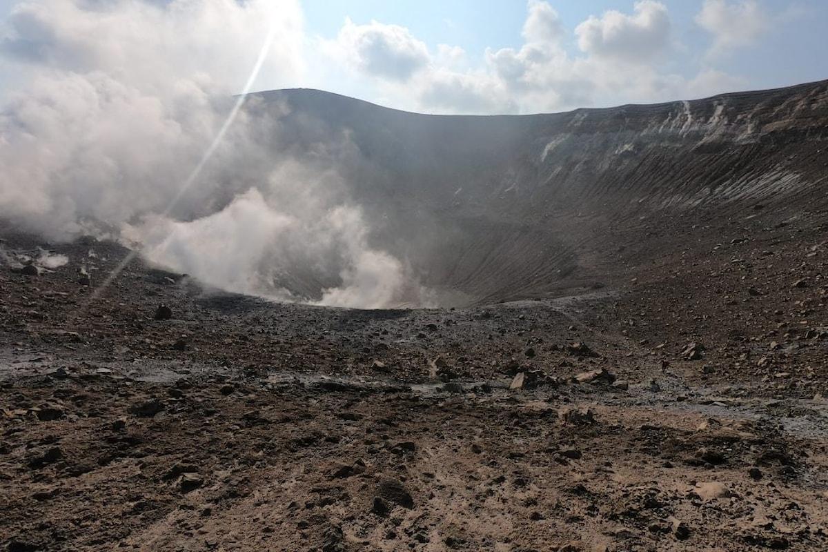 Allerta a Vulcano, nelle isole Eolie