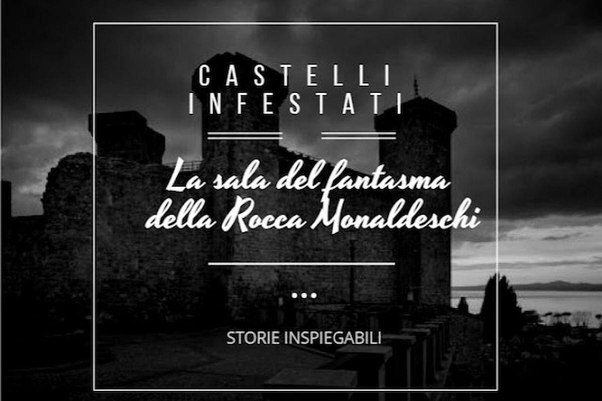 La sala del fantasma della Rocca Monaldeschi