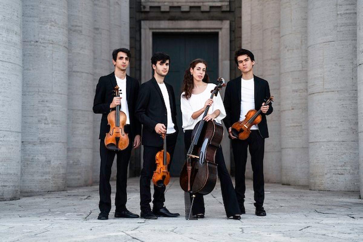 QUARTETTO EOS. Quattro pluripremiati talenti italiani under 25 sulle orme di Mozart, l'enfant prodige