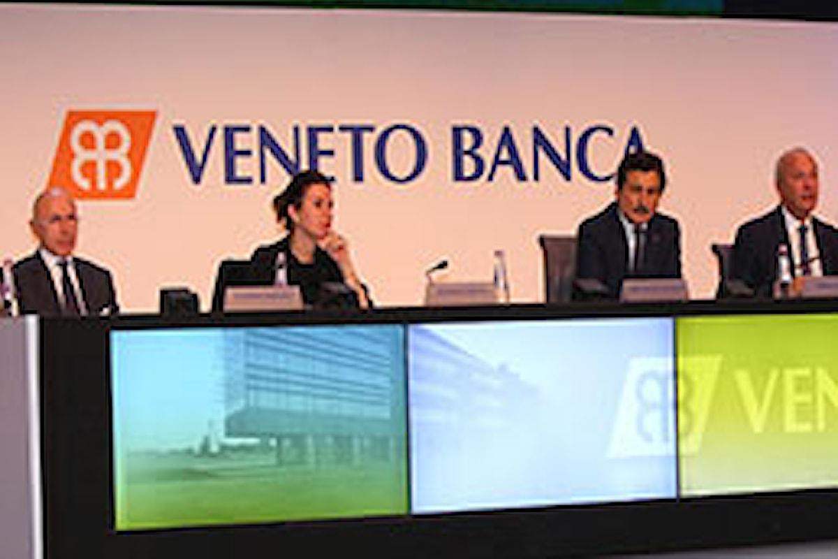 Veneto Banca da popolare diventa SpA, vara un aumento da 1 miliardo e si quota in Borsa