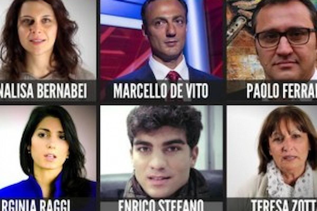 Amministrative a Roma: candidati M5S