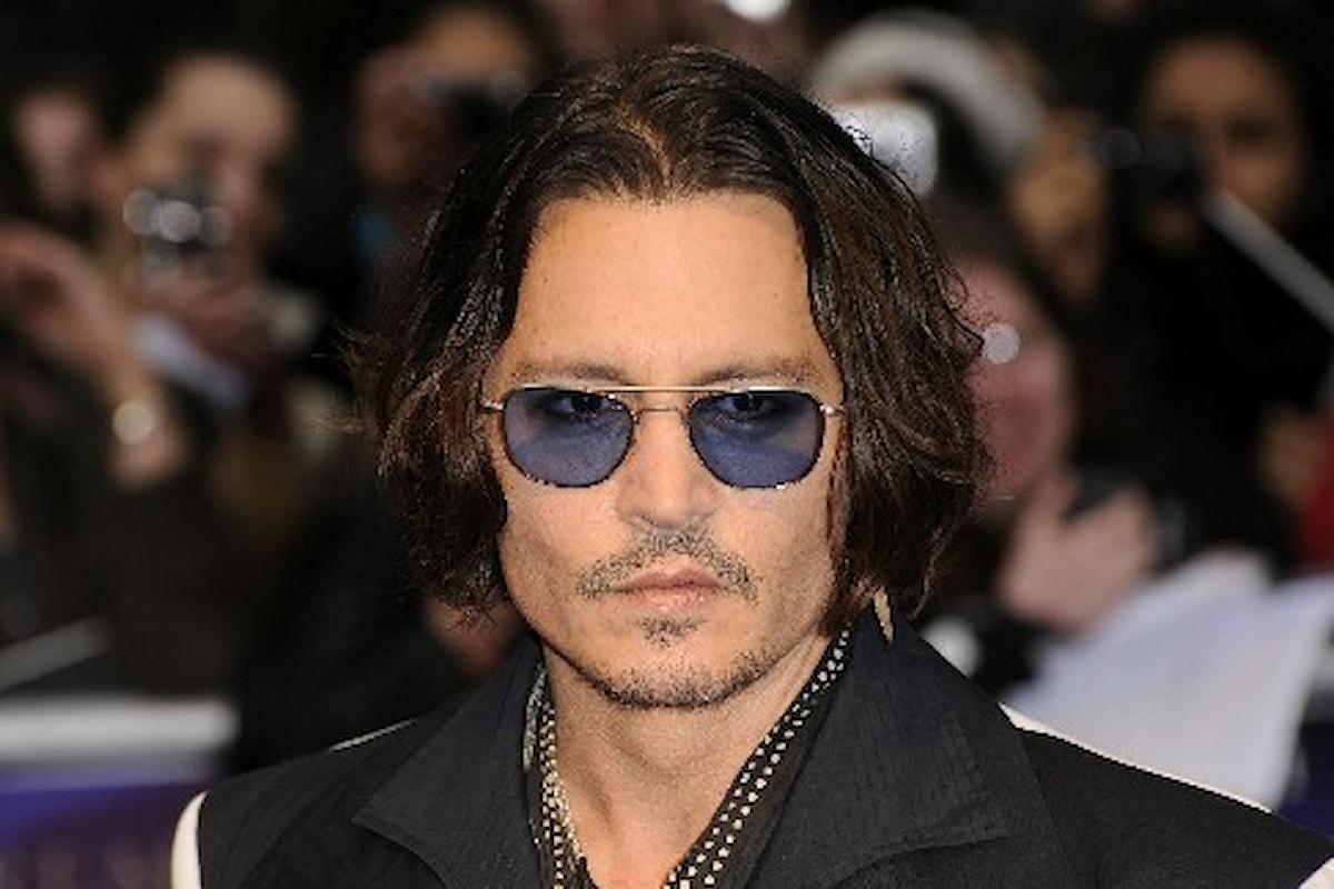 Johnny Depp sarà il protagonista del reboot di L'Uomo Invisibile