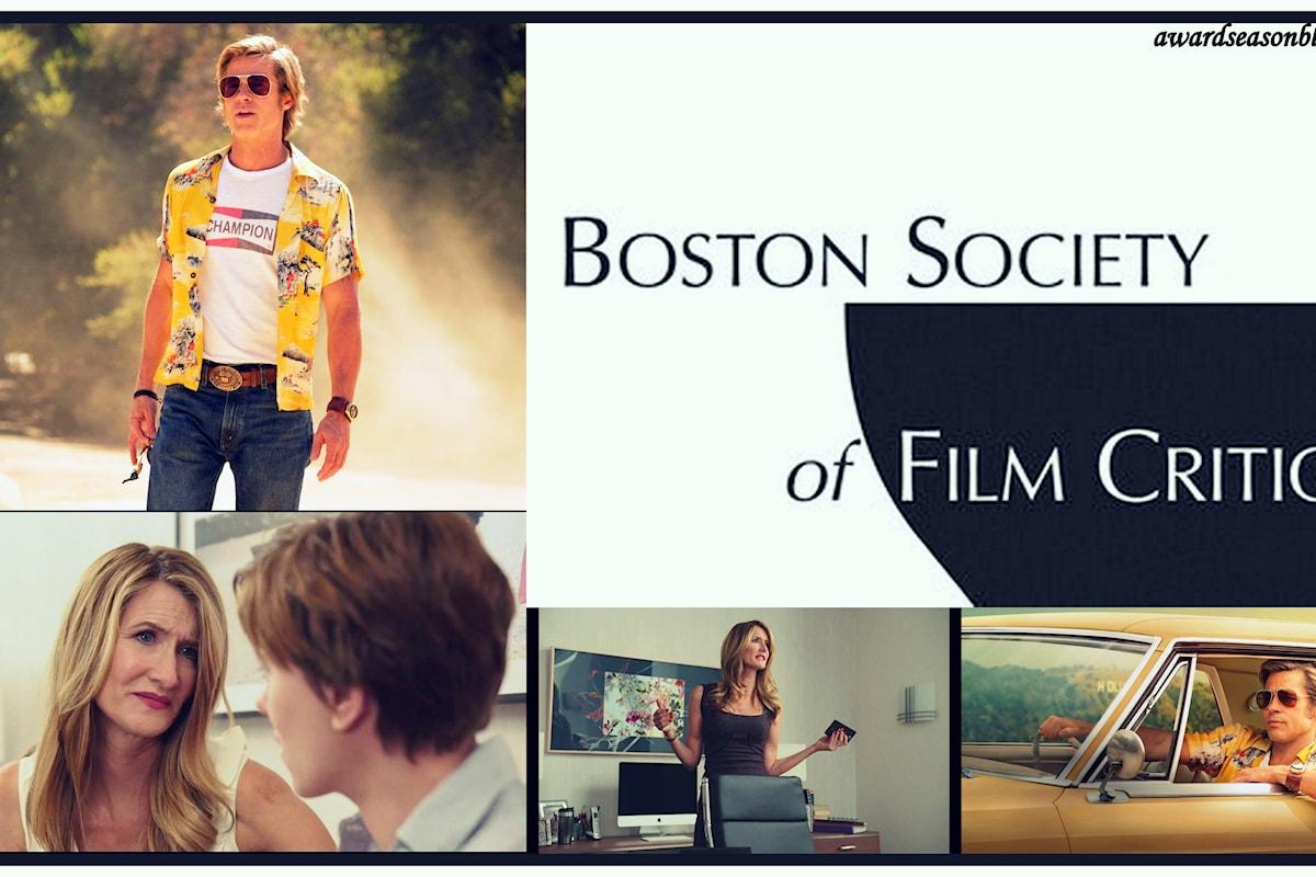 Con i Boston Society of Film Critics Awards Brad Pitt e Laura Dern si avvicinano all'Oscar