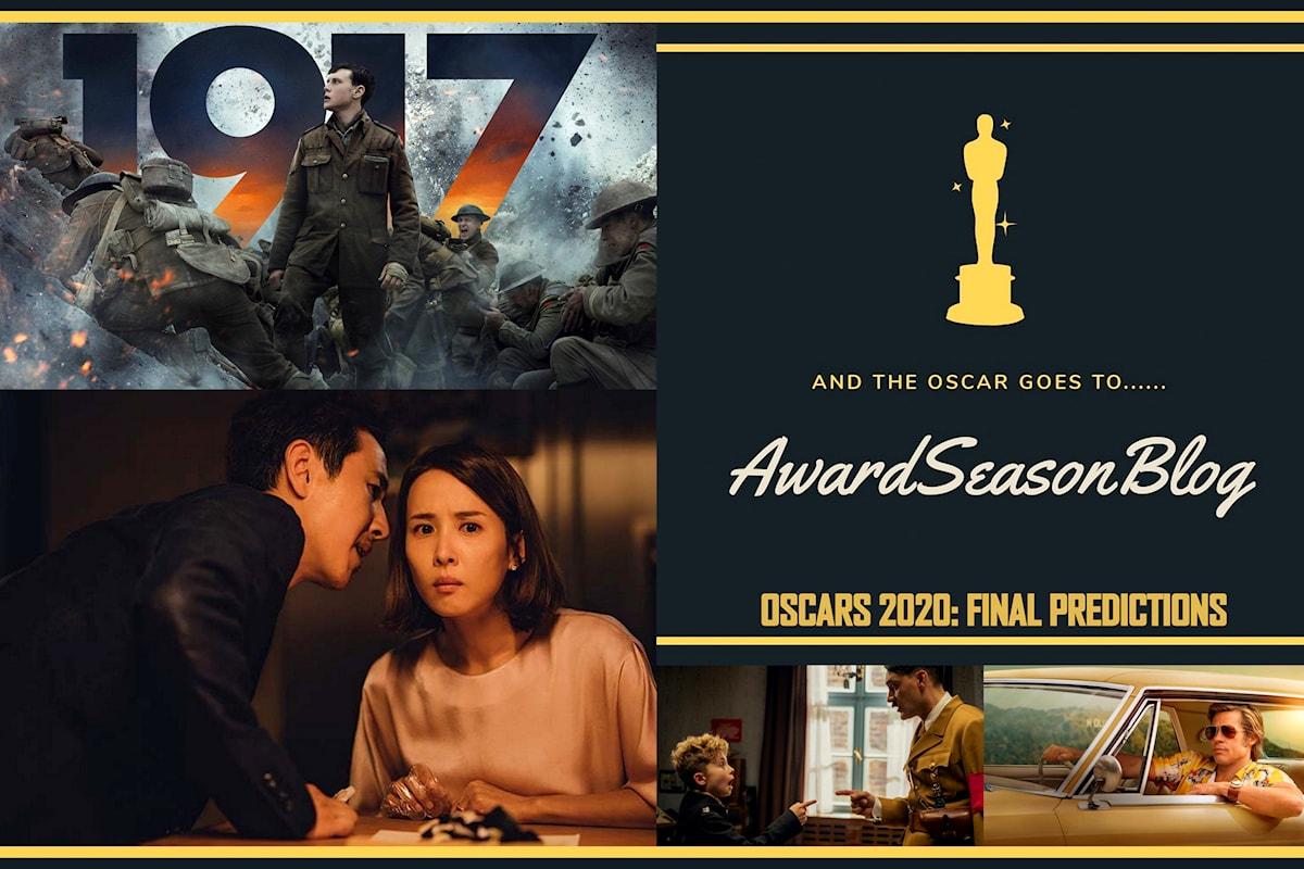 Previsioni Oscar 2020, chi vincerà l'ambita statuetta: Parasite o 1917?
