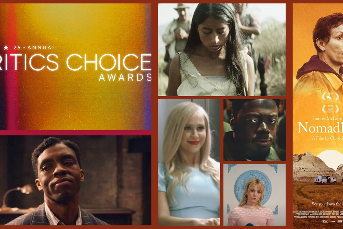 Ai Critics Choice Awards il road movie Nomadland eletto miglior film dell'anno
