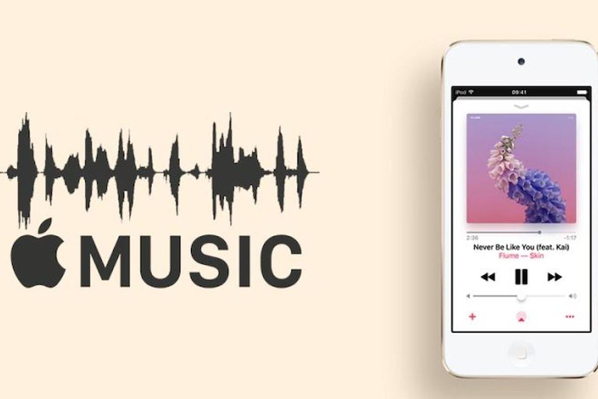 Cambiare la Qualità Audio per ascoltare al massimo la musica su Apple Music