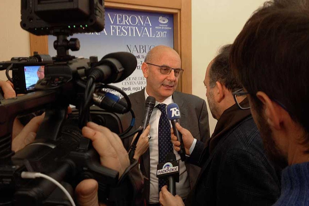 Arena di Verona, sarà il Nabucco ad inaugurare la stagione 2017