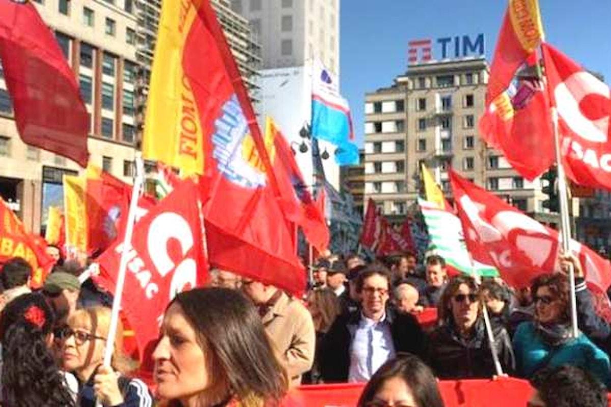Fiom, Fim e Uilm sciopero contro Federmeccanica per il rinnovo del contratto