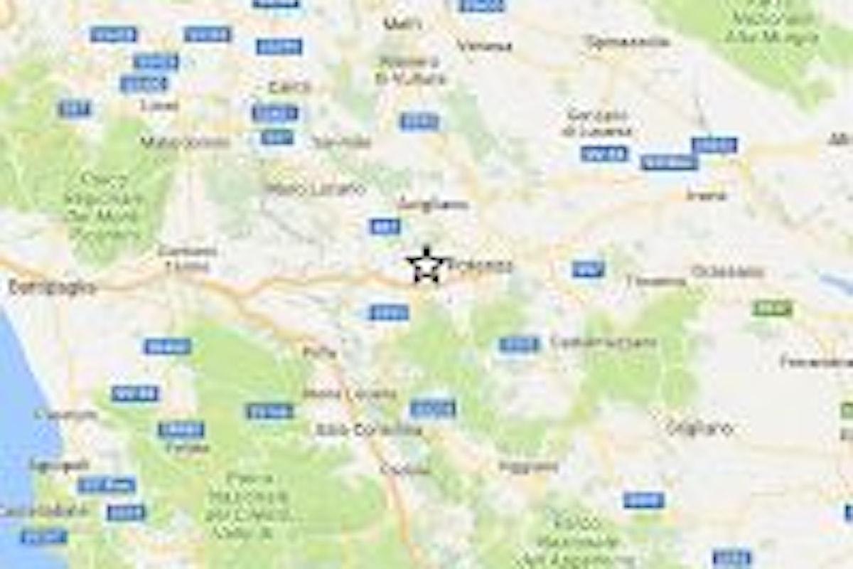Sisma M 3.1 in provincia di Potenza