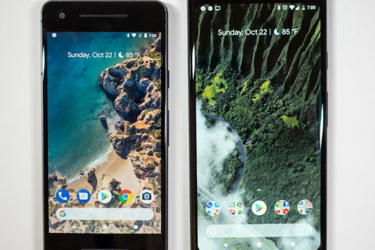 Google Pixel 2 e Pixel 2 XL: ancora problemi con il firmware