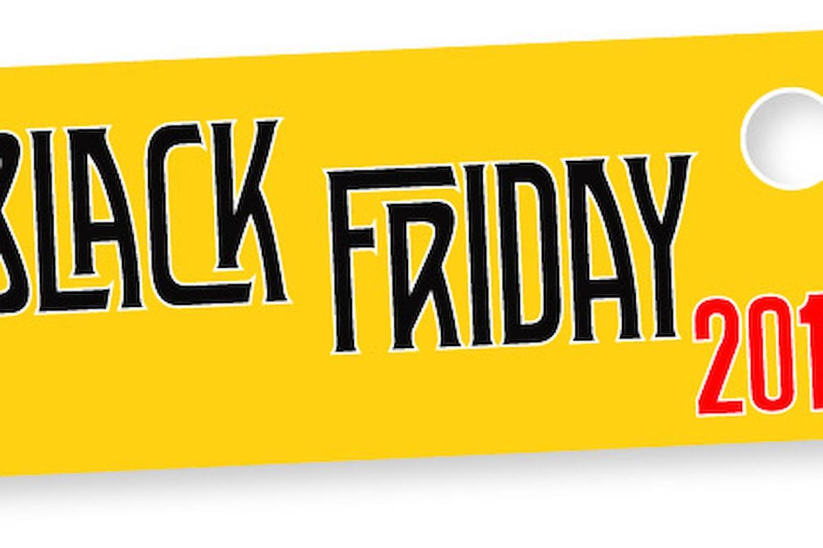 Arrivano le occasioni del Black Friday