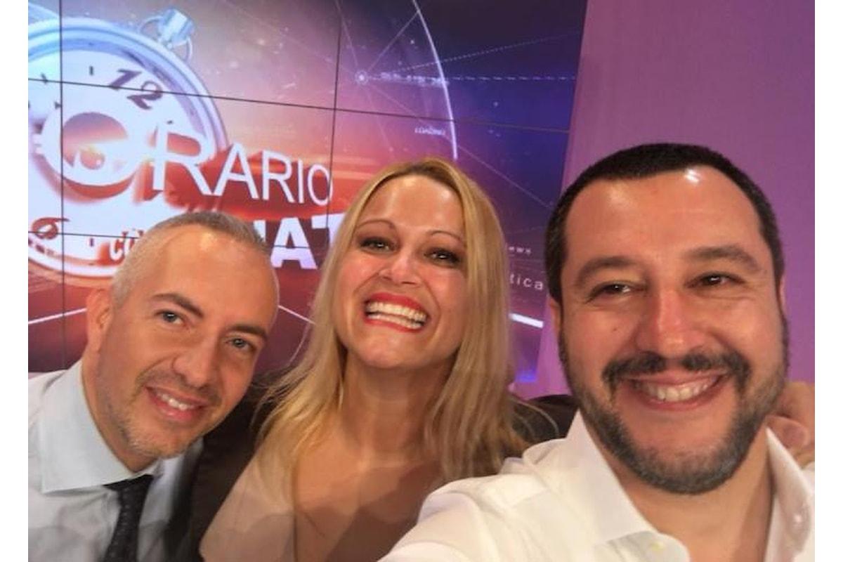 Salvini: dai migranti ai Rom, passando prima a fare una visitina al Papa