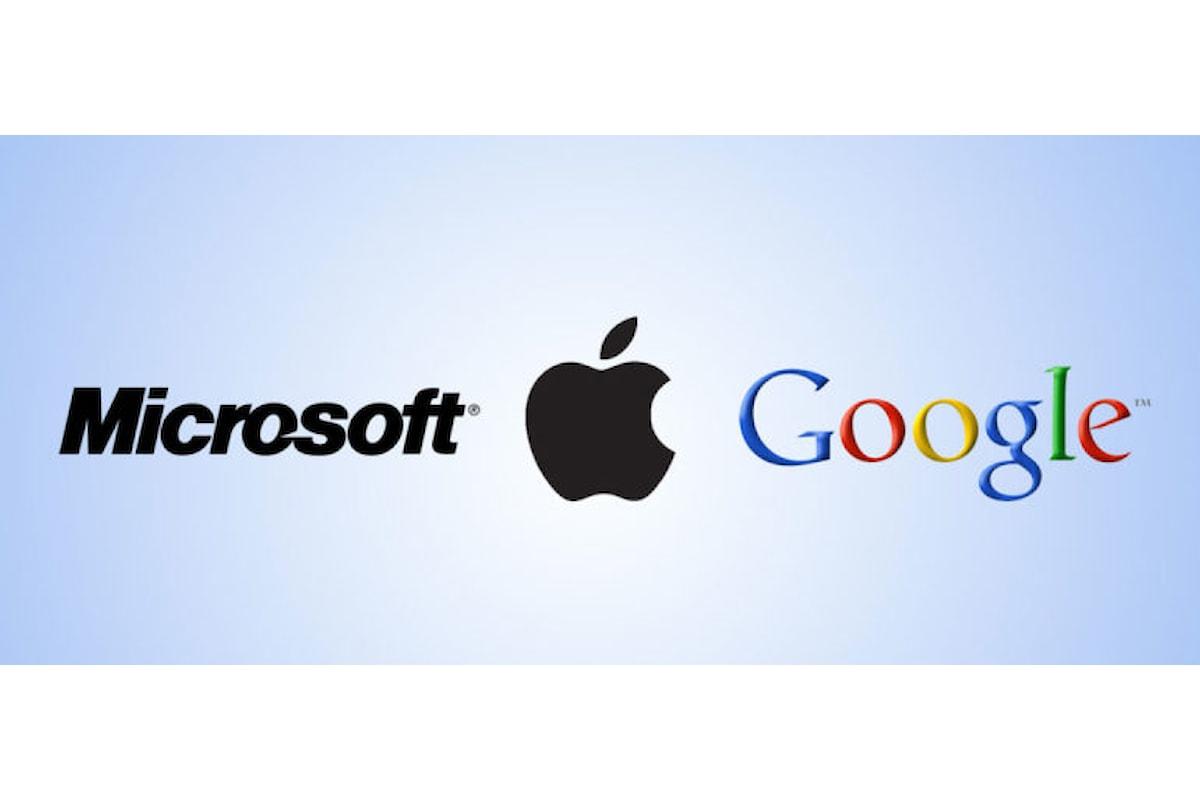 Apple, Google e Microsoft sono le aziende più ricche al mondo | Surface Phone Italia