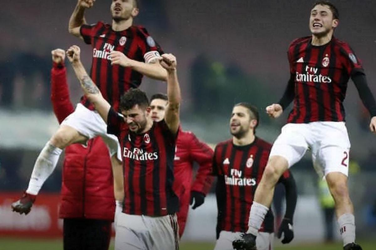 Il Milan vince 1-0 il derby nel quarto di finale di Coppa Italia e dà qualche speranza a Gattuso