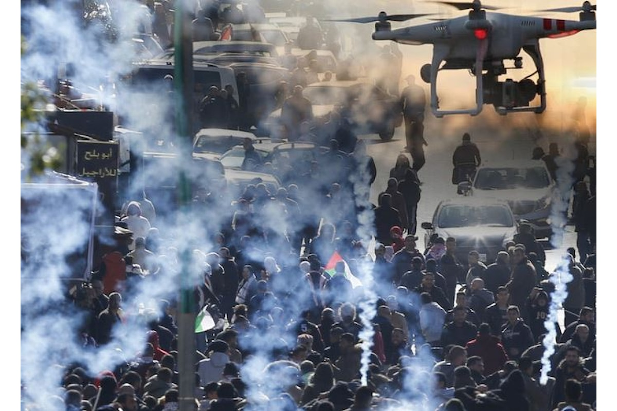 Leila Ghandur, 8 mesi, uccisa dai gas lacrimogeni lanciati da Israele